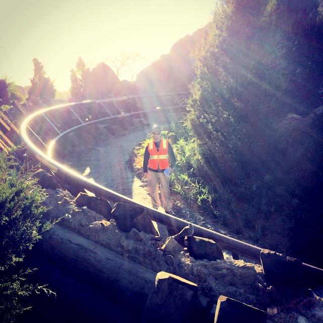 Disney Imagineer on Seven Dwarfs Mine Train Rollercoaster