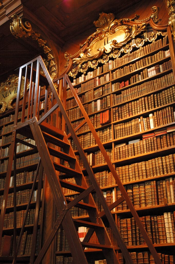 Old Library with ladder