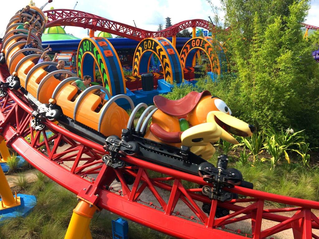 Slinky Dog Roller Coaster Landscape