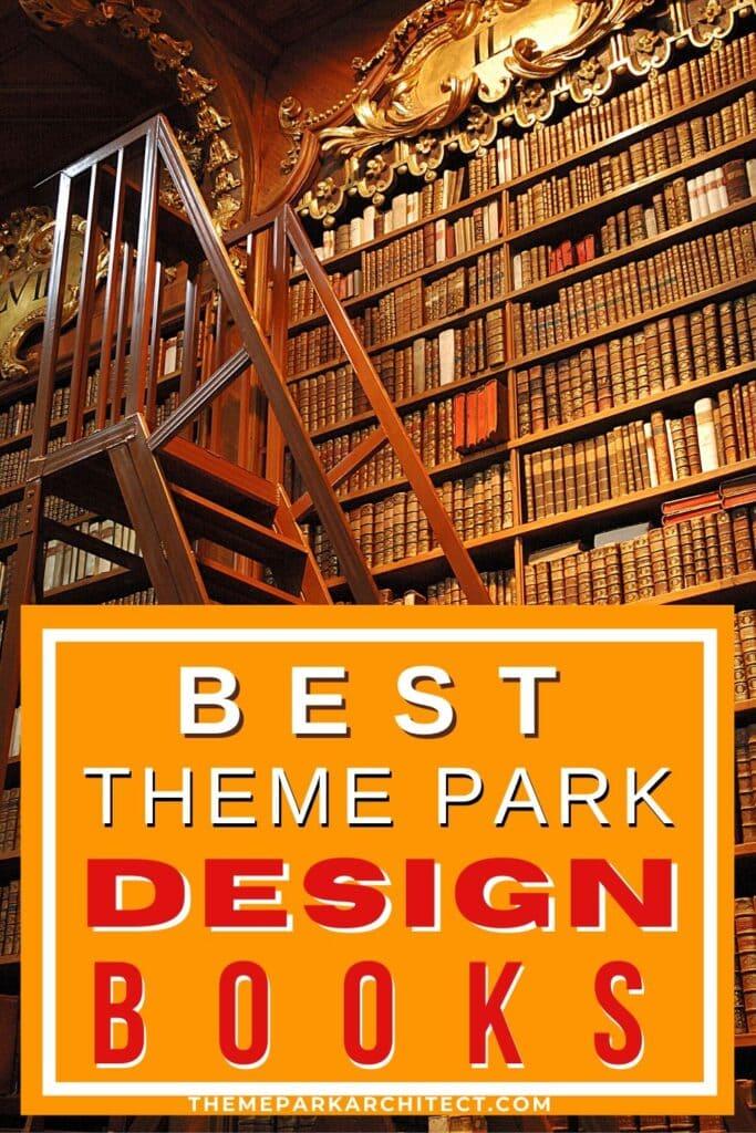 Theme Park Design Books Pin