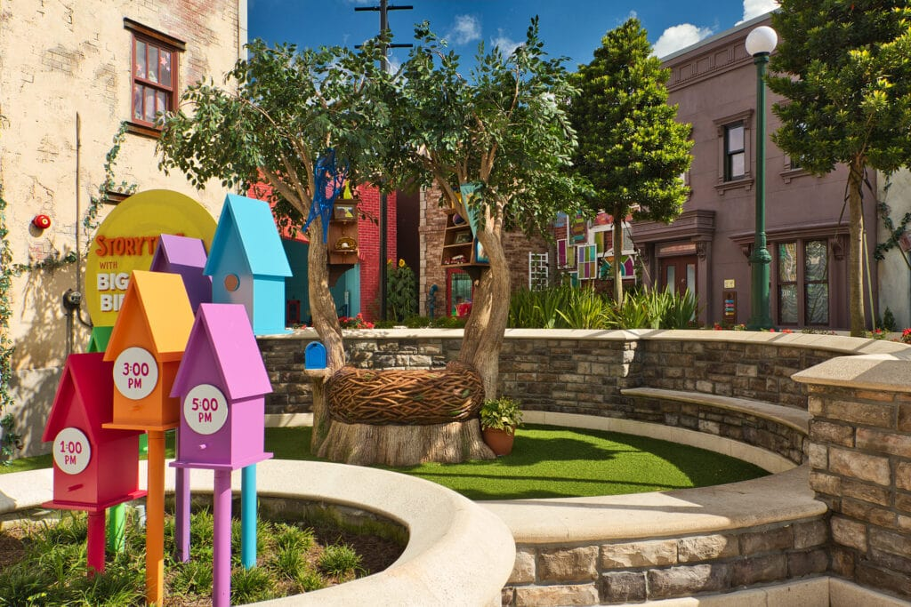 Sesame Street Land Sea World