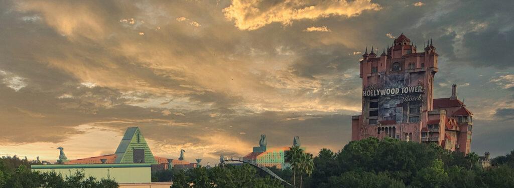 Disney Hollywood Studios Sunset