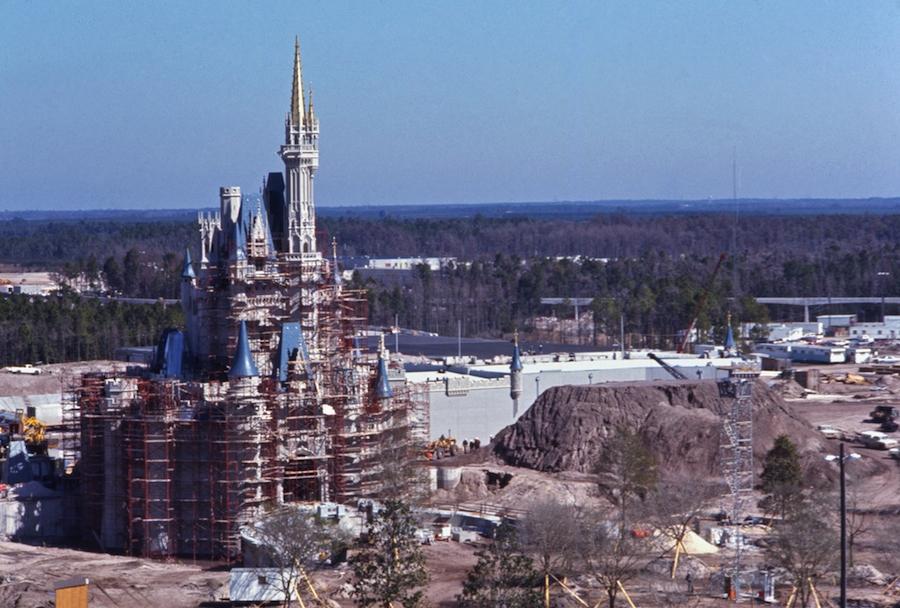 Cinderella Castle Construction Photo