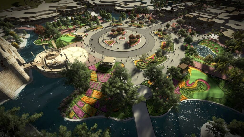 MK Hub Concept Aerial